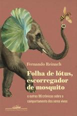 FOLHA DE LÓTUS, ESCORREGADOR DE MOSQUITO