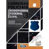 CARREIRAS POLICIAIS - VOL. 3