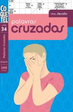 PALAVRAS CRUZADAS - NÍVEL DESAFIO - LIVRO 34