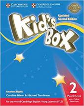 KIDS BOX LEVEL 2WORKBOOK WITH ONLINE RESOURCES AMERICAN ENGLISH- SECOND EDITION