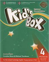 KIDS BOX LEVEL 4WORKBOOK WITH ONLINE RESOURCES AMERICAN ENGLISH- SECOND EDITION