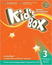 KIDS BOX LEVEL 3 WORKBOOK WITH ONLINE RESOURCES AMERICAN ENGLISH - SECOND EDITION