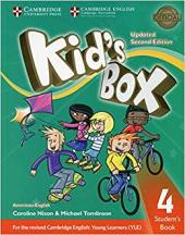 KIDS BOX LEVEL 4STUDENTS BOOK AMERICAN ENGLISH- SECOND EDITION WITH ONLINE RESOURCES