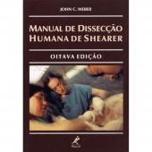 MANUAL DE DISSECÇÃO HUMANA DE SHEARER