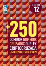 LIVRO COQUETEL + 250 DOMINOX NUMEROX CRUZADOX DUPLEX CRIPTOCRUZADA E MUITOS OUTROS JOGOS 12