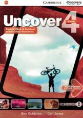 UNCOVER 4 FULL COMBO - WITH ONLINE WB E ONLINE PRATICE - 1ST ED