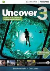 UNCOVER 3 FULL COMBO WITH ONLINE WB AND ONLINE PRACTICE - 1ST ED