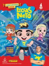 LIVRO ILUSTRADO CAPA DURA + 5 ENVELOPES DE CROMOS - LUCCAS NETO