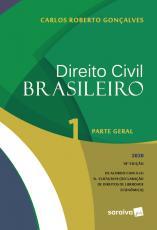 DIREITO CIVIL BRASILEIRO VOL. 1 - 18ª EDIÇÃO 2020
