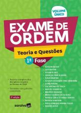 EXAME DE ORDEM TEORIA E QUESTÕES - 1 FASE - 1ª EDIÇÃO 2020