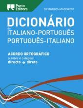 DICIONÁRIO ACADÉMICO DE ITALIANO-PORTUGUÊS / PORTUGUÊS-ITALIANOACORDO ORTOGRÁFICO