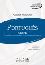 PORTUGUES-CESPE-QUESTOES COMENTADAS E ORGANIZADAS POR ASSUNTO - SERIE QUEST