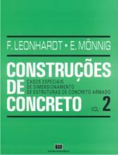 CONSTRUCOES DE CONCRETO - VOL. 2 - CASOS ESPECIAIS DIMENSIONAMENTO DE ESTRU