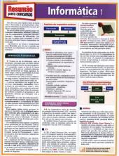 CONCURSOS INFORMATICA 1 - RESUMAO - 1ª