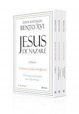 BOX COLETÂNEA JESUS DE NAZARÉ - DA ENTRADA EM JERUSALÉM ATÉ A RESSUREIÇÃO/DO BATISMO NO JORDÃO À TRANSFIGURAÇÃO