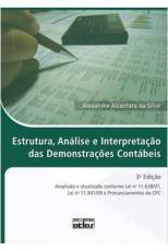 ESTRUTURA, ANALISE E INTERPRETACAO DAS DEMONSTRACOES CONTABEIS - AMPLIADA E - 3ª