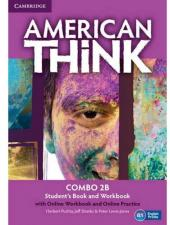 AMERICAN THINK 2B COMBO SB WITH ONLINE WB AND ONLINE PRACTICE - 1ST ED