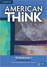 AMERICAN THINK 1 WB WITH ONLINE PRACTICE - 1ST ED