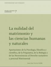 LA NULIDAD DEL MATRIMONIO Y LAS CIENCIAS HUMANAS Y NATURALES