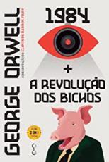 GEORGE ORWELL: 1984 + A REVOLUÇÃO DOS BICHOS - 2 EM 1