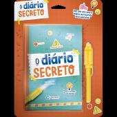 DIARIO SECRETO COM CANETA MAGICA - VERDE