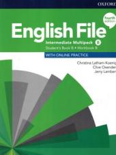 ENGLISH FILE INTERMEDIATE SB/WB B MULTIPACK - 4TH ED.
