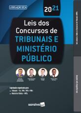 LEIS DOS CONCURSOS DE TRIBUNAIS E MINISTÉRIO PÚBLICO