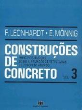 CONSTRUCOES DE CONCRETO - VOL. 3 - PRINCIPIOS BASICOS SOBRE A ARMACAO DE ES