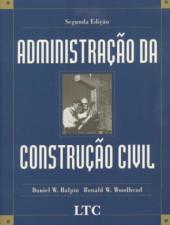 ADMINISTRAÇÃO DA CONSTRUÇÃO CIVIL