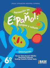 FORMACION EN ESPANOL - 6º ANO - ENSINO FUNDAMENTAL II - 6º ANO